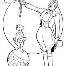 printable coloring pages of circus animals archives mente beta