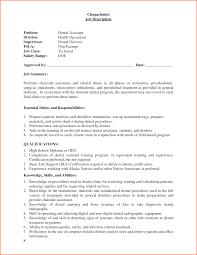 Dental Student Resume Dentist Responsibilities Restaurant Cleaner