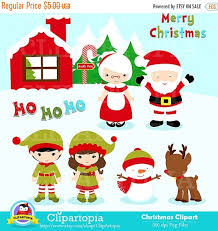 christmas clipart for commercial use