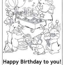 birthday card coloring pages az coloring pages free printable