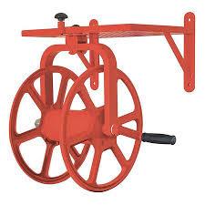 liberty hose reel steel 21 1 2in h red 36xr16 zoro com