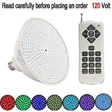 How To Replace Pool Light Amazon Com Bentolin 120v Color Changing 20w Replacement Led
