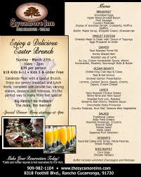 Easter Brunch Buffet Menu by Easter Brunch In The Inland Empire Mercedes Benz Of Ontario