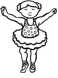 ballerina practise ballet coloring pages coloring sky