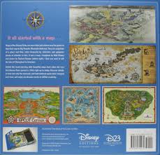 Map Of Epcot Maps Of The Disney Parks Charting 60 Years From California To