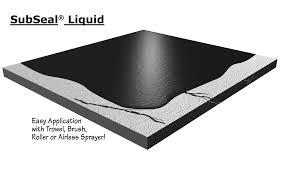 Damp Proof Membrane Under Laminate Floor Subseal Liquid Waterproofing Membrane