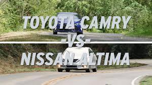 nissan altima 2015 car gurus toyota camry vs nissan altima autonation youtube