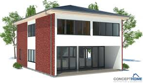 small house plan with affordable building budget with two floors