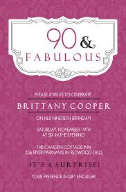 90th birthday invitation wording 90th birthday invitations and