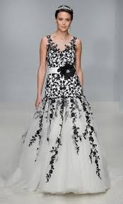 black and white wedding dresses black wedding dresses preowned wedding dresses