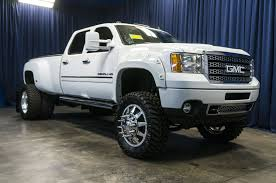 lifted gmc dually lifted 2011 gmc sierra 3500 denali dually 4x4 northwest motorsport