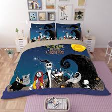 nightmare before skellington duvet cover fitted