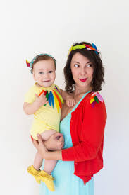 Halloween Costumes Mom Toddler Diy