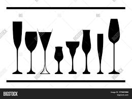bottle alcohol glasses alcohol vector u0026 photo bigstock