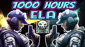 look siege social what 1000 hours of ela experience looks like rainbow six siege