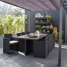 salon jardin 8 personnes salon de jardin table fauteuil chaise salon de jardin pas cher
