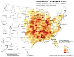 United States Storm Map by Tornado Alley Wikipedia