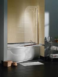 Trackless Bathtub Doors Maax Collection Tub Shield 1 Panel Trackless Tub Shower Door