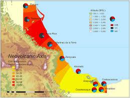 Vera Cruz Mexico Map by Map Of The Coastal Plain Of Veracruz Indicating The Locations Of