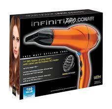 Infiniti Pro Hair Dryer conair 259y infiniti pro hair dryer 1875 watts lifeandhome