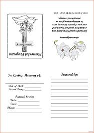 printable funeral program templates 9 free funeral program template microsoft wordagenda amazing
