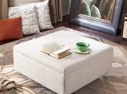 coffee tables cream ottoman coffee table striking cream leather