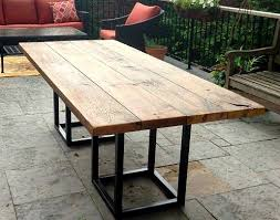 modern outdoor dining table impressive archive with tag 90 reclaimed wood outdoor dining table