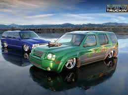 bagged nissan car view of nissan xterra s photos video features and tuning of