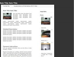 free ebay auction templates professional free ebay template builder www ebaytemplates com