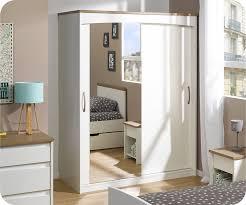armoire miroir chambre armoire de chambre blanche armoire chambre blanche pas cher