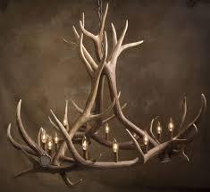 Deer Antler Chandelier Canada L Elk Chand Deer Antler Ls And Design Tables