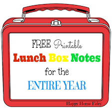 happy thanksgiving notes free printable lunch box notes for the entire year happy home fairy
