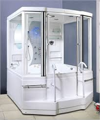 Smallm With Big Shower Spacious Design Room Curved Rod Designs Compact Bathroom Design Ideas