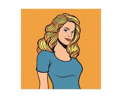 cartoon blonde vectors photos psd files free download