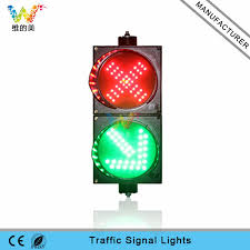 200mm cross green arrow mini guide light led traffic signal