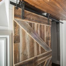 reclaimed wood barn door made by 84 lumber custom millworkshops