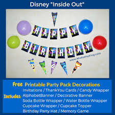 printable birthday decorations free free inside out printable party decoration pack insideoutevent