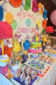 Candy Themed Party Decorations Candy Land Inspired Themed Party For A Sweet 16th By Klm Events