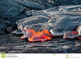 Hawaii Lava Flow Map Lava Flow Stock Photo Image Of Hawaii Hilo Volcano 35242166