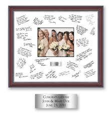 personalized wedding autograph frame autograph frames autograph frame silver plate 20 x 24 fits