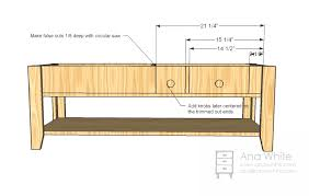 Wood Coffee Table Designs Plans by Ana White Wooden Train Table Coffee Table Diy Projects