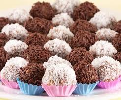 recette cuisine br駸ilienne cuisine brésilienne recette des brigadeiros truffes au chocolat