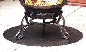 Firepit Mat Pit Mat For Wood Deck Melissatoandfro