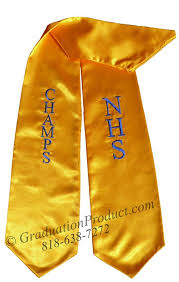 cheap graduation stoles nhs chs graduation stole from graduationproduct1