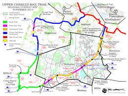 Ma Map Massachusetts Rail Trails And Open Spaces