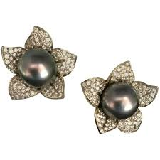 earrings for sale gumuchian pistachio pearl and diamond gold earrings for sale at