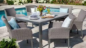 atlanta 6 seat dining set atlanta weave garden furniture