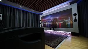 Beamer Im Wohnzimmer Referenzheimkino Im Wohnzimmer Die Theatrelounge Youtube
