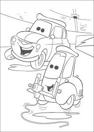 mater cars coloring pages lightning mcqueen coloring pages