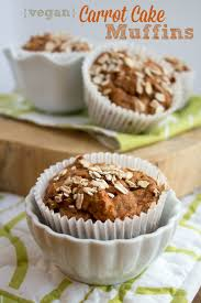 whole wheat carrot cake muffins healthy vegan recipe